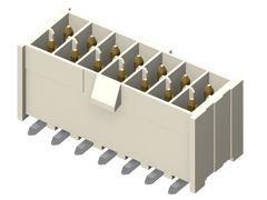 Samtec , IPL1 Mini Mate, 6 Way, 2 Row, Vertical PCB Header (63)