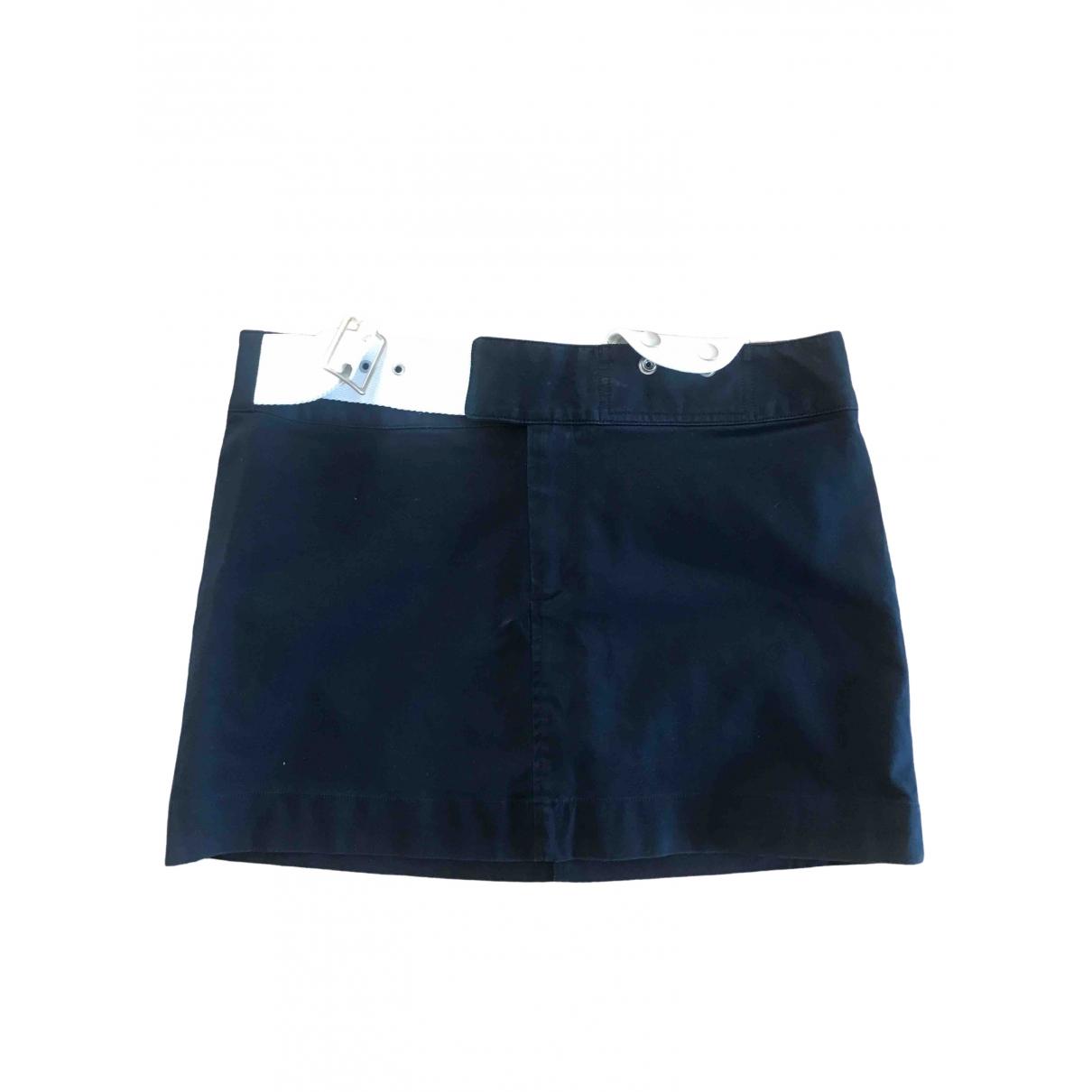 Ralph Lauren - Jupe   pour femme en coton - bleu