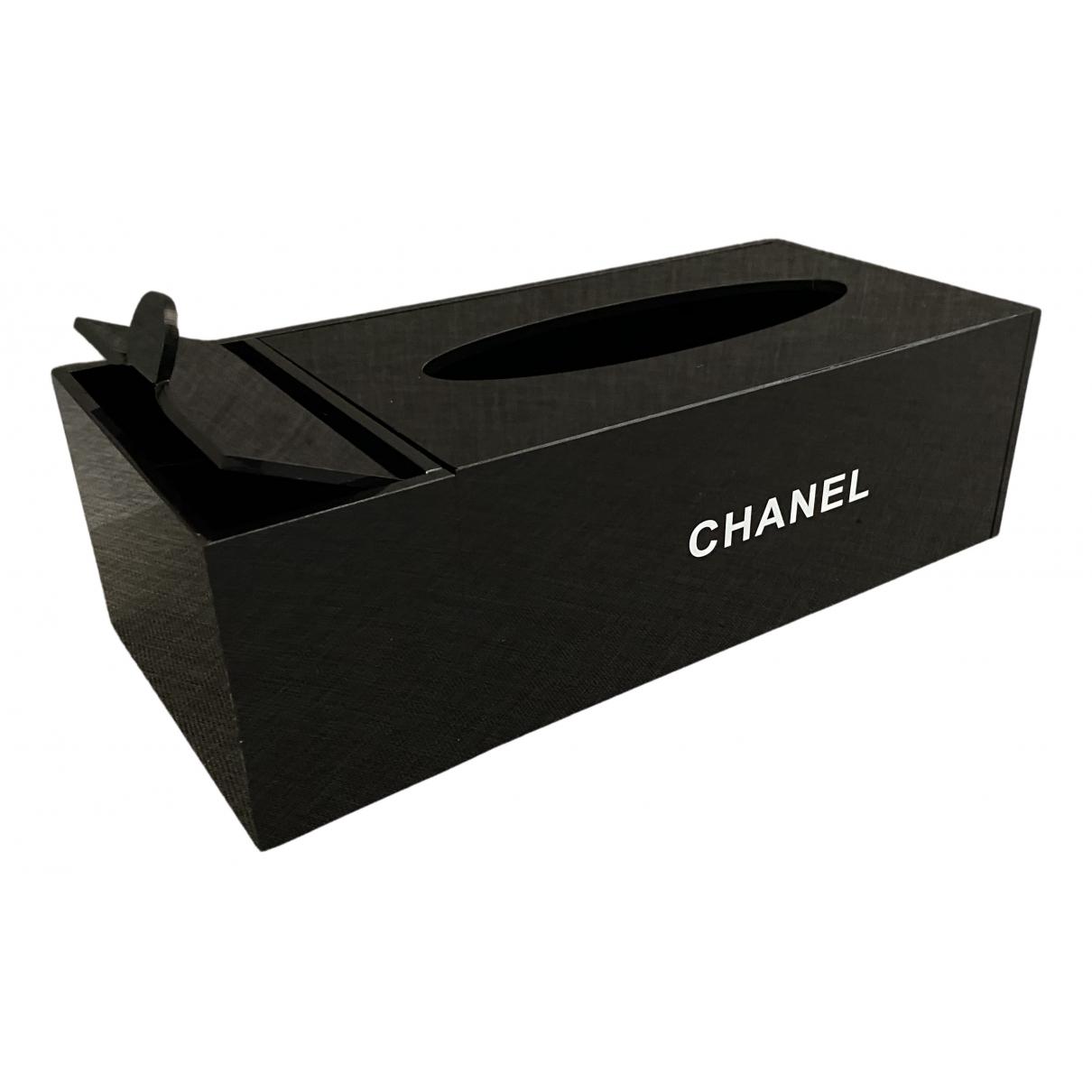 Chanel \N Black Home decor for Life & Living \N