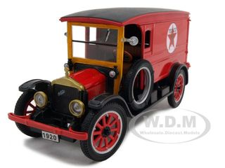 1920 White Delivery Van Red