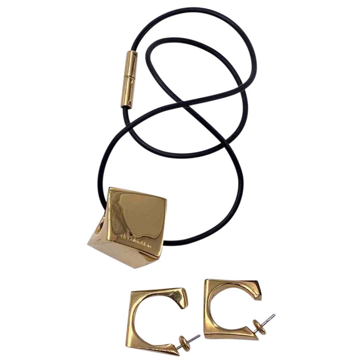 Calvin Klein - Parure   pour femme en metal - dore