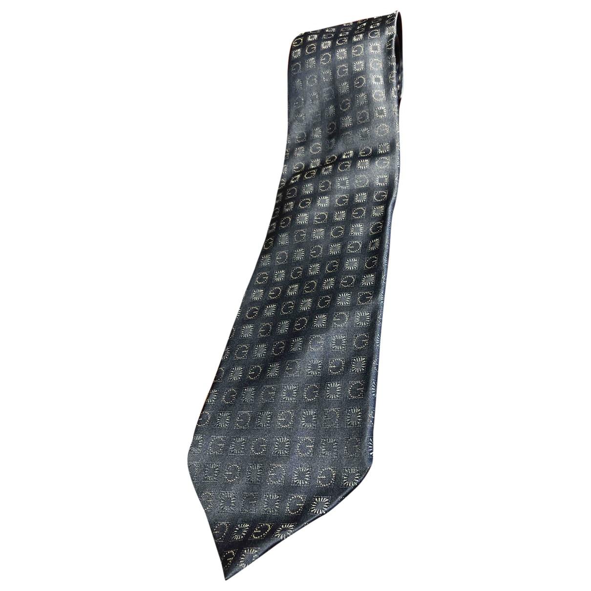 Gucci \N Navy Silk Ties for Men \N