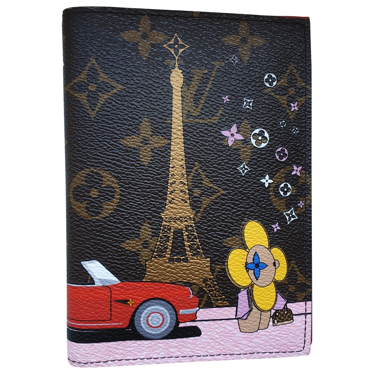 Louis Vuitton - Petite maroquinerie Couverture Passeport pour femme en toile - multicolore