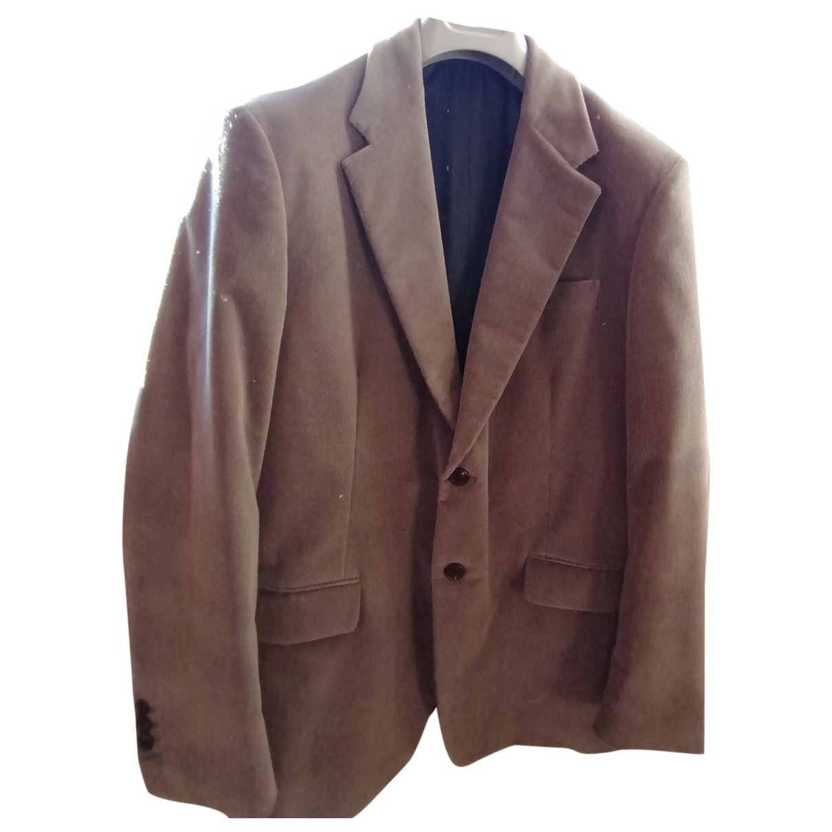 Prada \N Grey Velvet jacket  for Men 54 IT