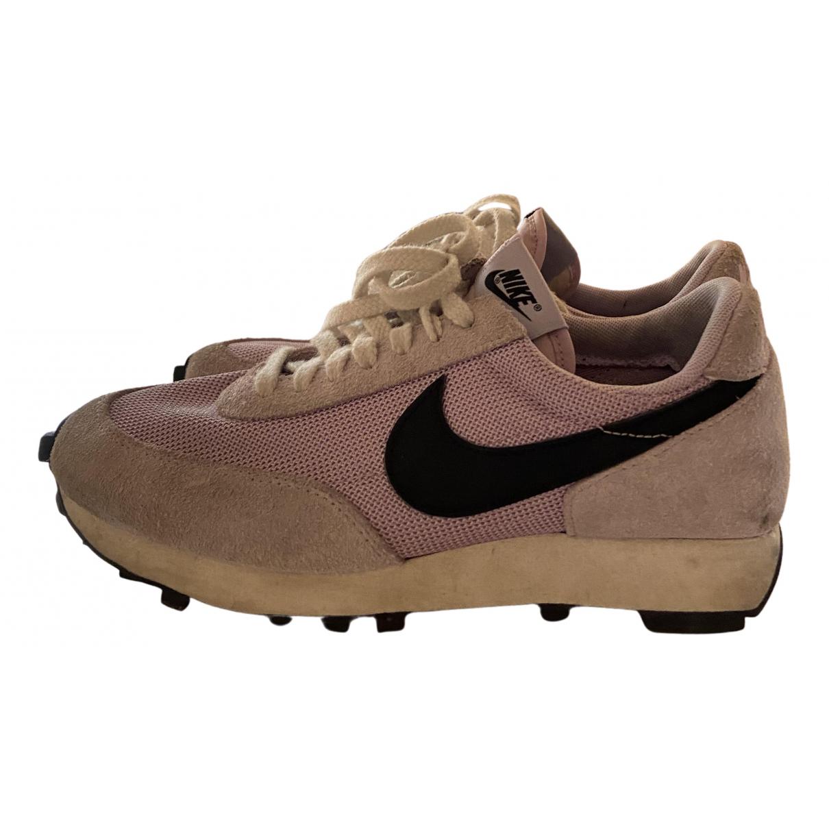Nike N Purple Leather Trainers for Women 38.5 EU