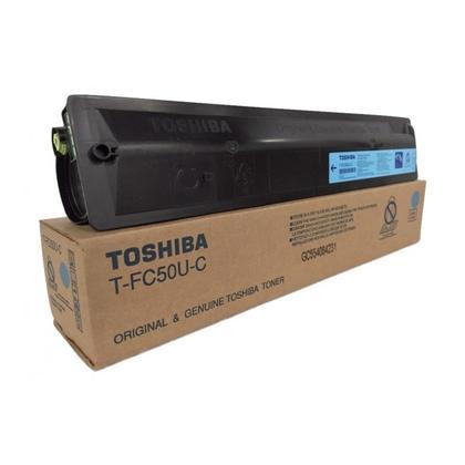 Toshiba TFC50UC Original Cyan Toner Cartridge
