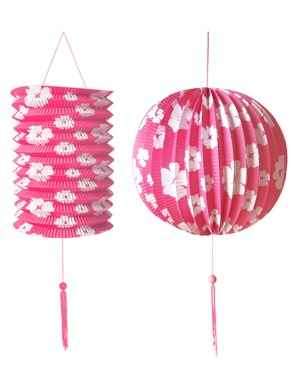 Gartenparty Set pink 2-tlg.