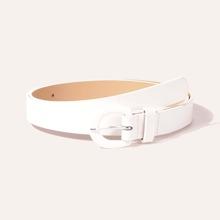 Cinturon con hebilla simple