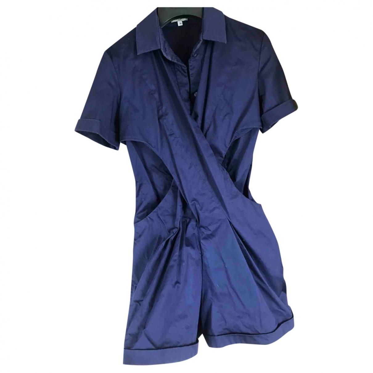 Kenzo - Combinaison   pour femme en coton - marine