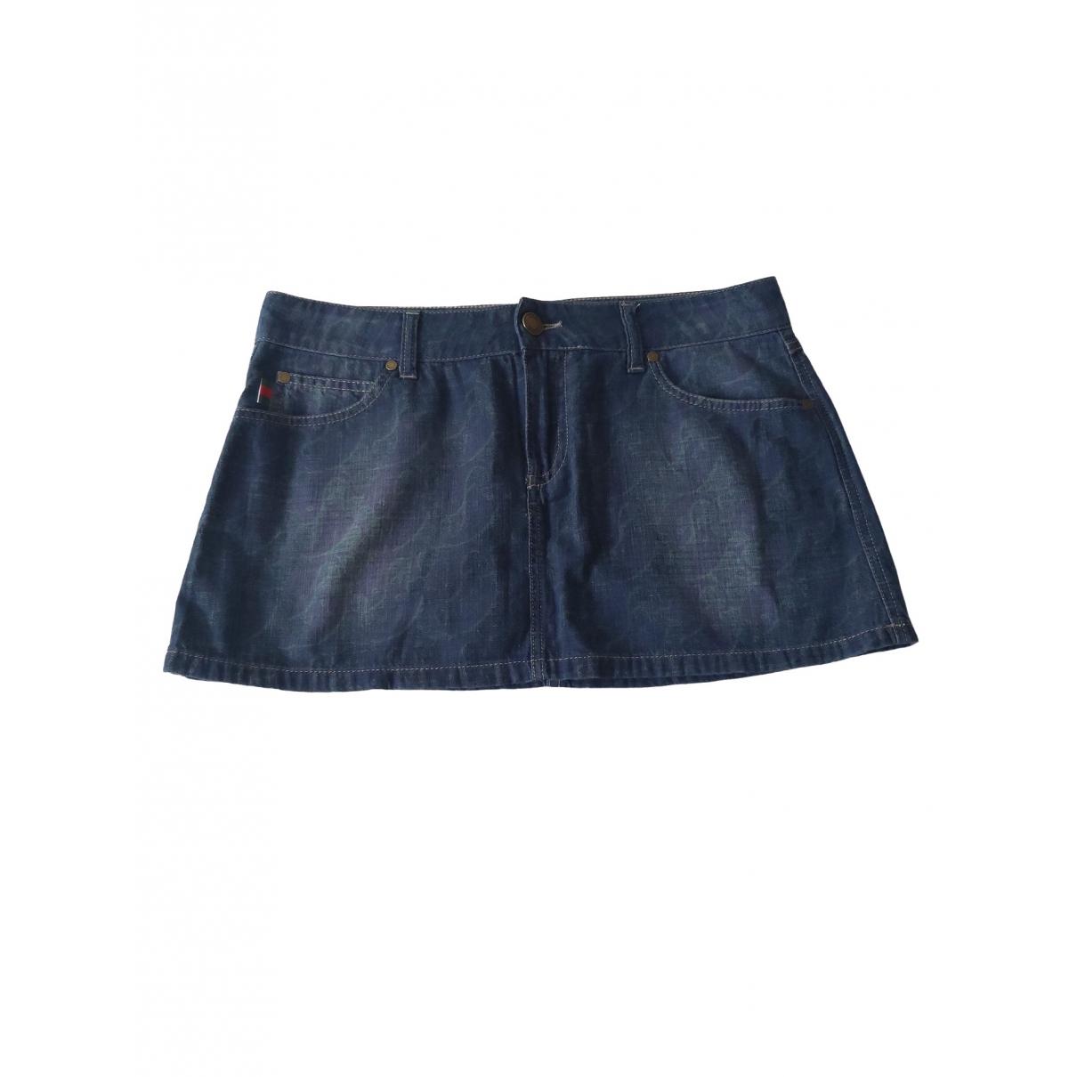 Gucci \N Blue Denim - Jeans skirt for Women 42 FR