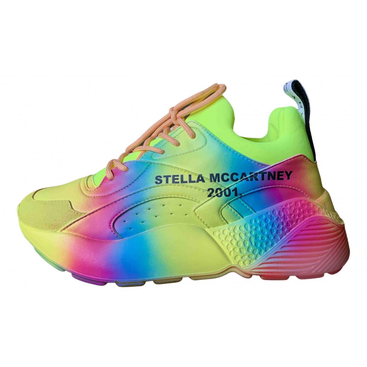 Stella Mccartney Eclypse Multicolour Cloth Trainers for Women 37 IT
