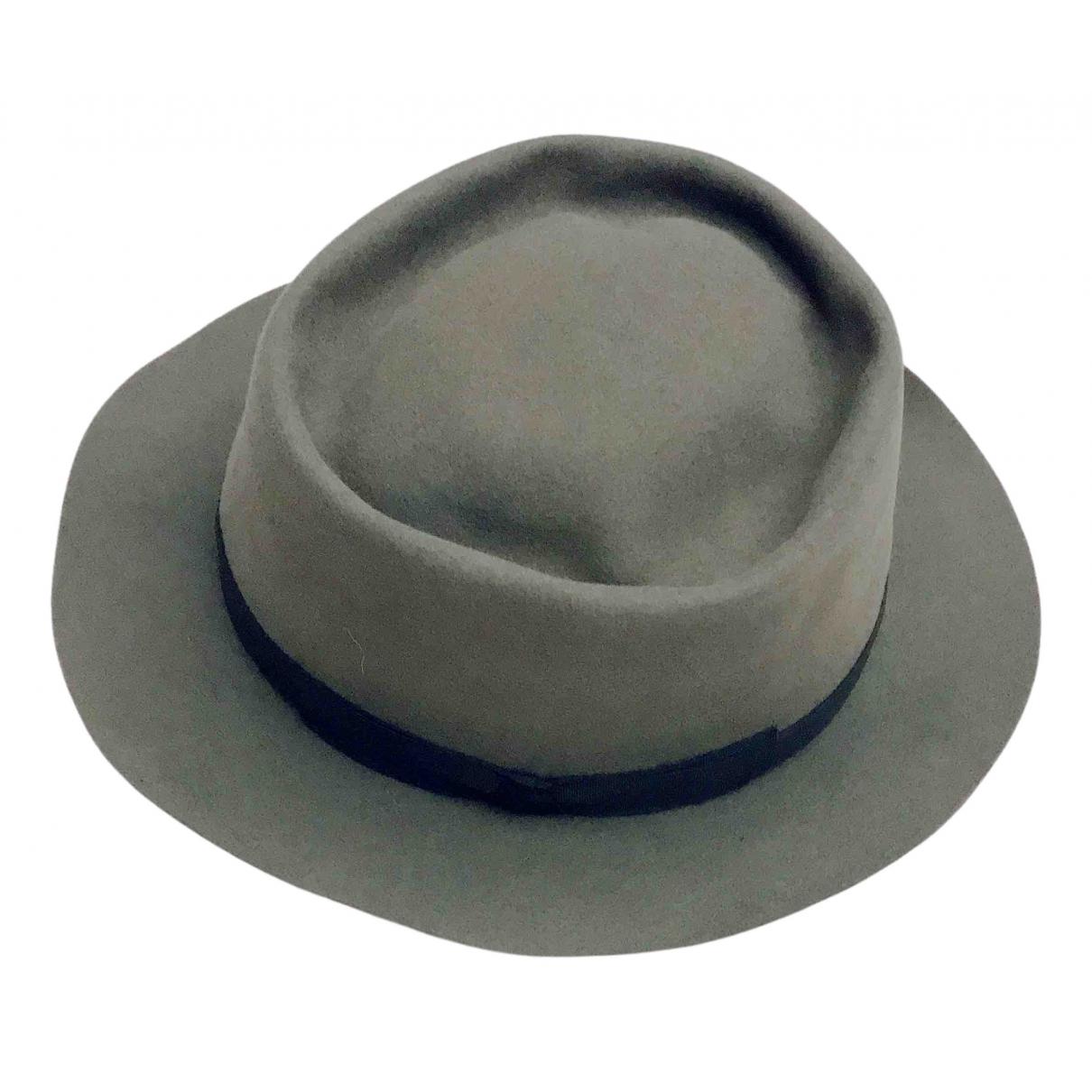 Dior - Chapeau   pour femme en cachemire - gris
