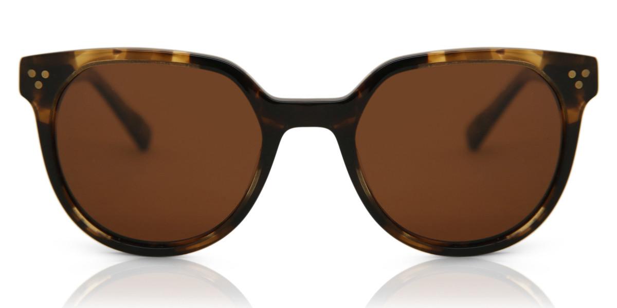 Oval Full Rim Plastic Men's Sunglasses Tortoise Size 49 - Free Lenses - HSA/FSA Insurance - Arise Collective