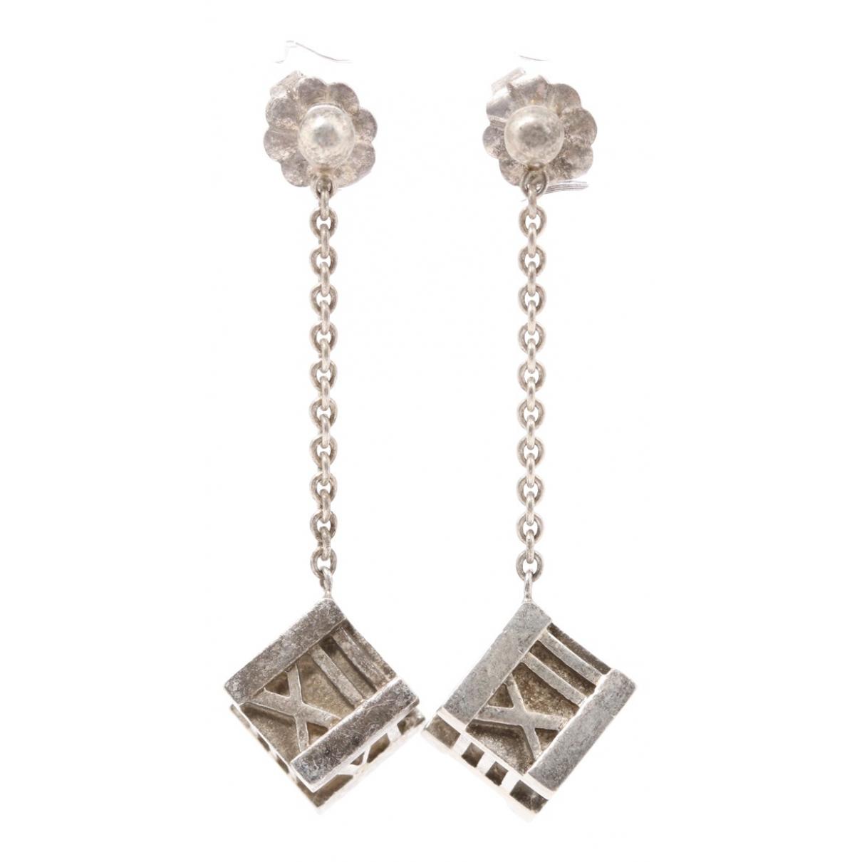 Tiffany & Co Atlas OhrRing in  Silber Silber