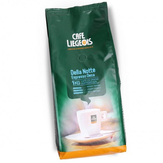 """Kaffeebohnen Cafe Liegeois """"Della Notte Deca"""", 1 kg"""