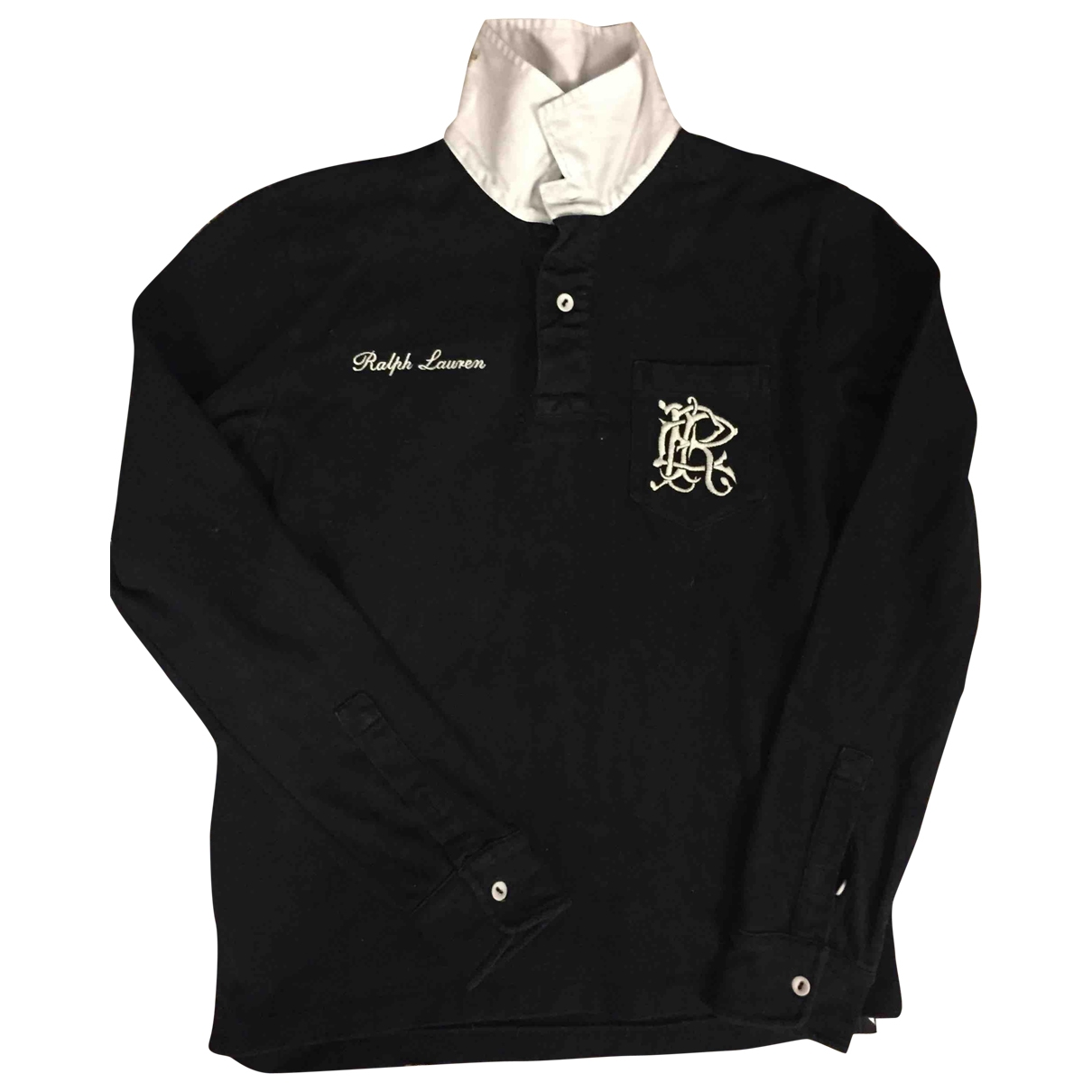 Ralph Lauren \N Top in  Schwarz Baumwolle