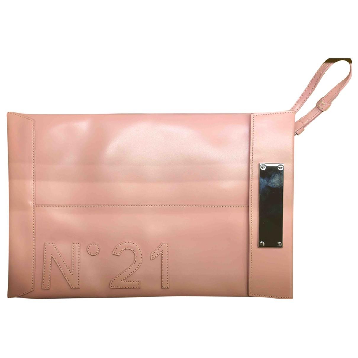 N°21 \N Pink Leather handbag for Women \N