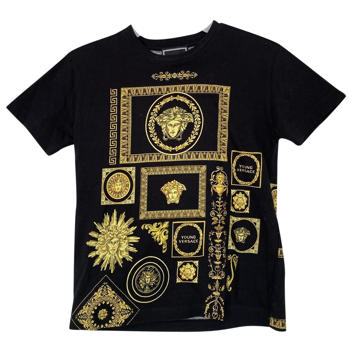 Versace \N Black Cotton  top for Kids 6 years - until 45 inches UK