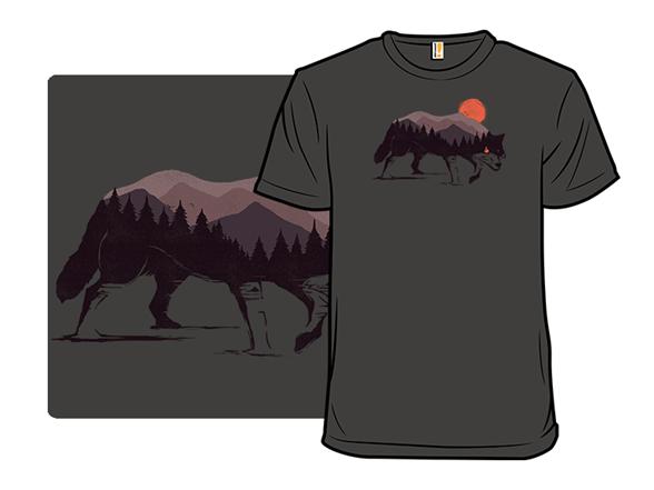 Stay Wild Wolf T Shirt