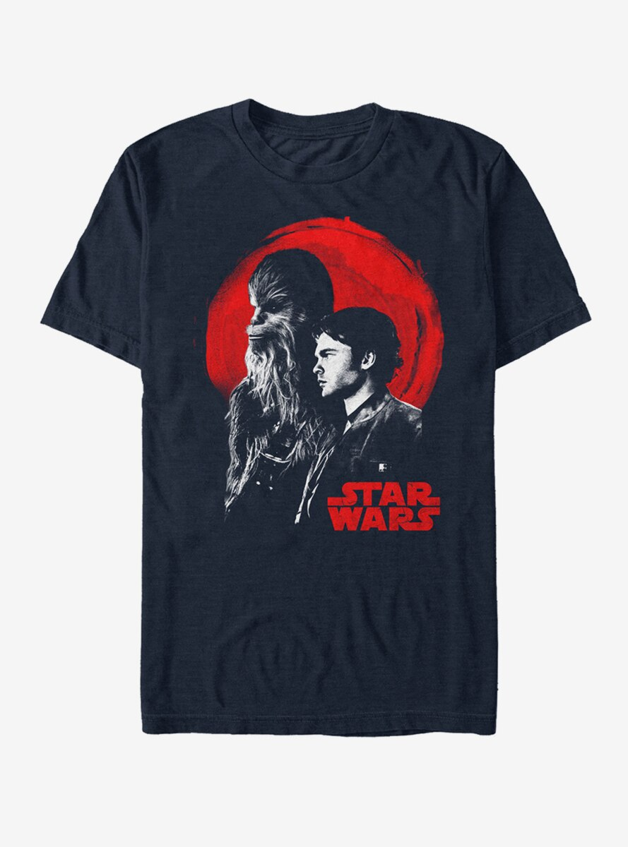 Star Wars Solo Partners In Crime Sunset T-Shirt