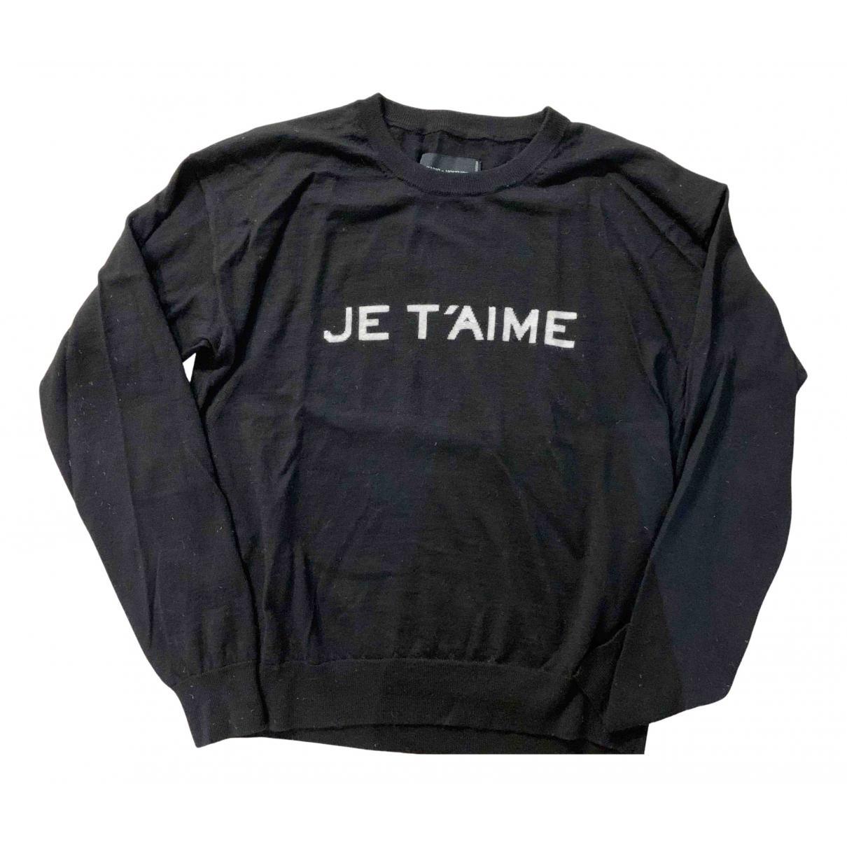 Zadig & Voltaire Spring Summer 2019 Black Wool Knitwear for Women 36 FR