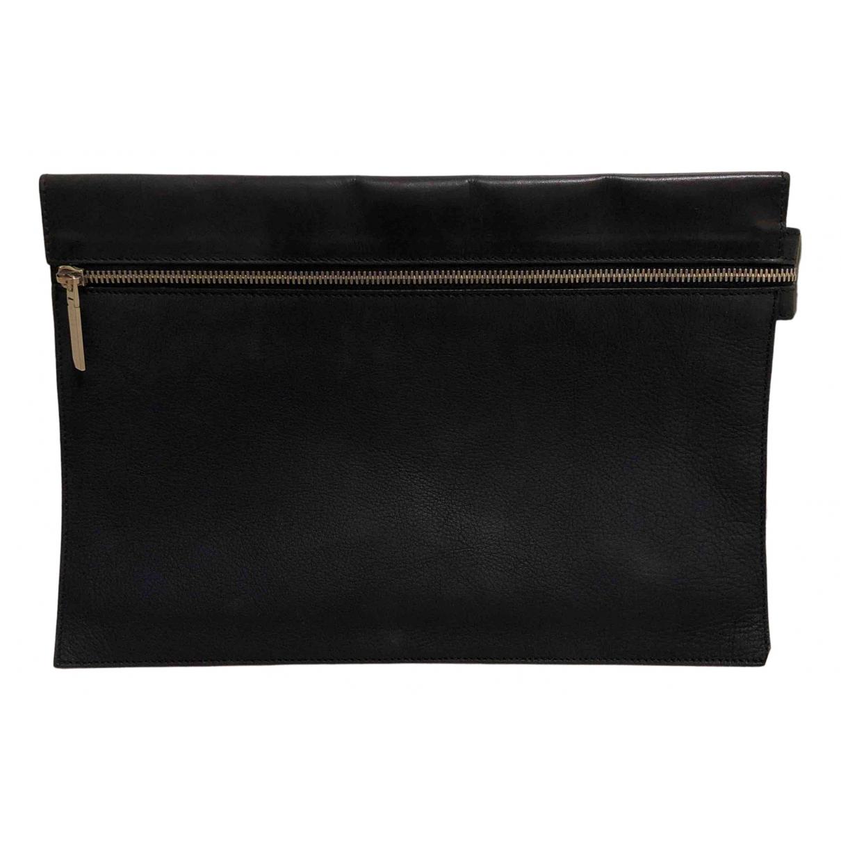 Victoria Beckham N Navy Leather Clutch bag for Women N