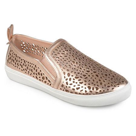 Journee Collection Womens Kenzo Slip-On Shoe, 9 Medium, Pink
