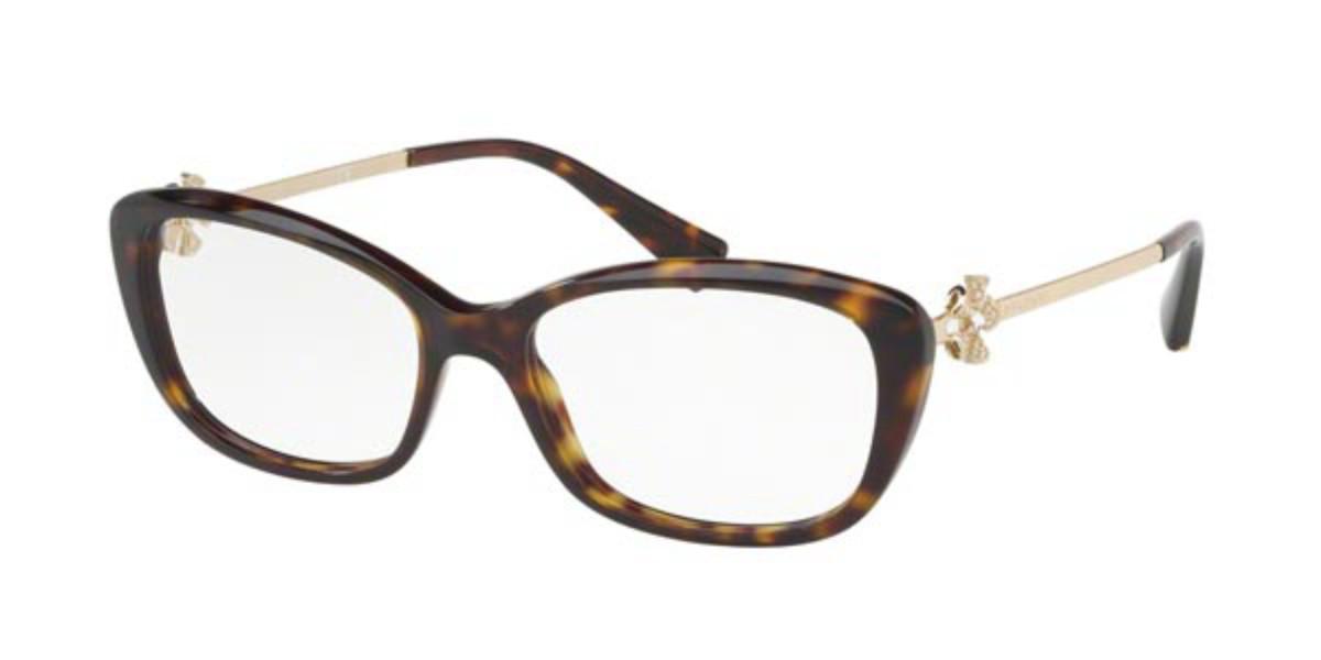 Bvlgari BV4145B 504 Women's Glasses Tortoise Size 53 - Free Lenses - HSA/FSA Insurance - Blue Light Block Available