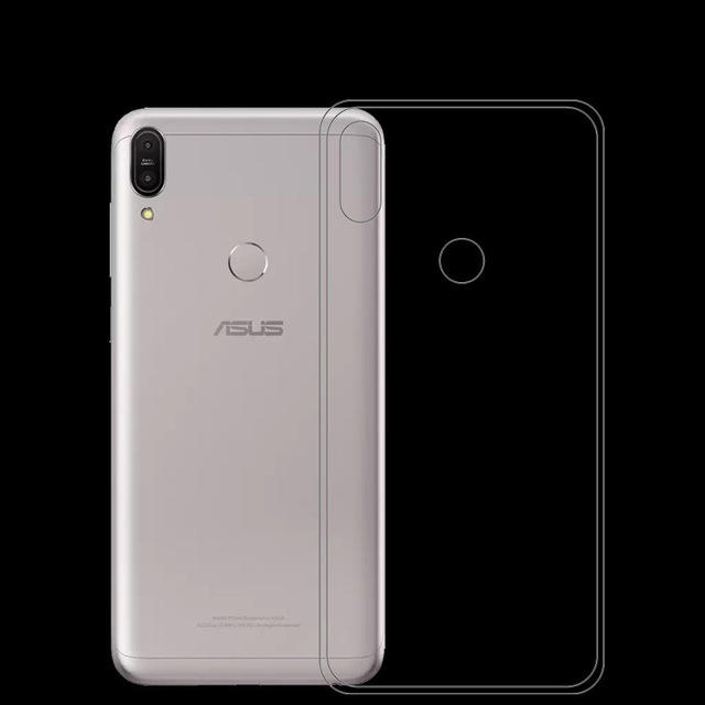 Bakeey Ultra-Thin Transparent Soft TPU Protective Case For ASUS Zenfone Max(M1) / ZB555KL