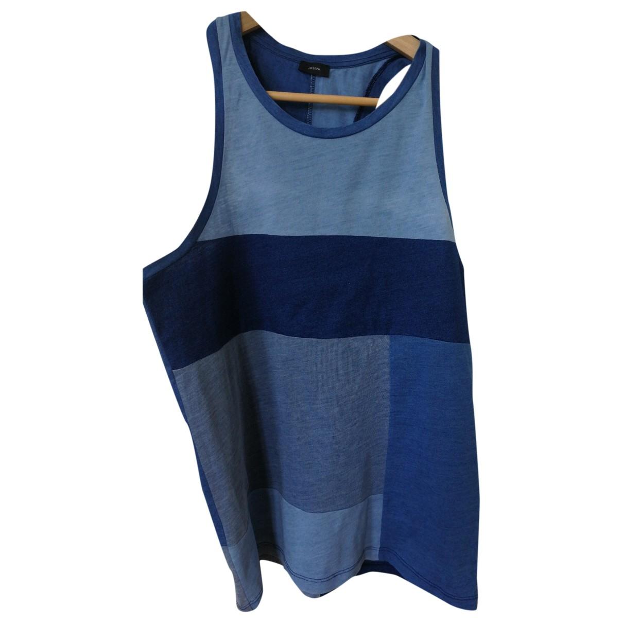 Joseph \N Top in  Blau Baumwolle