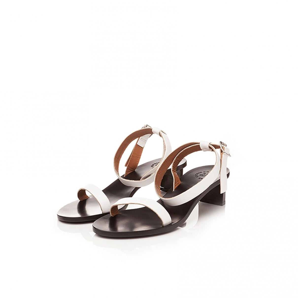 Sandalias de Cuero Atp Atelier