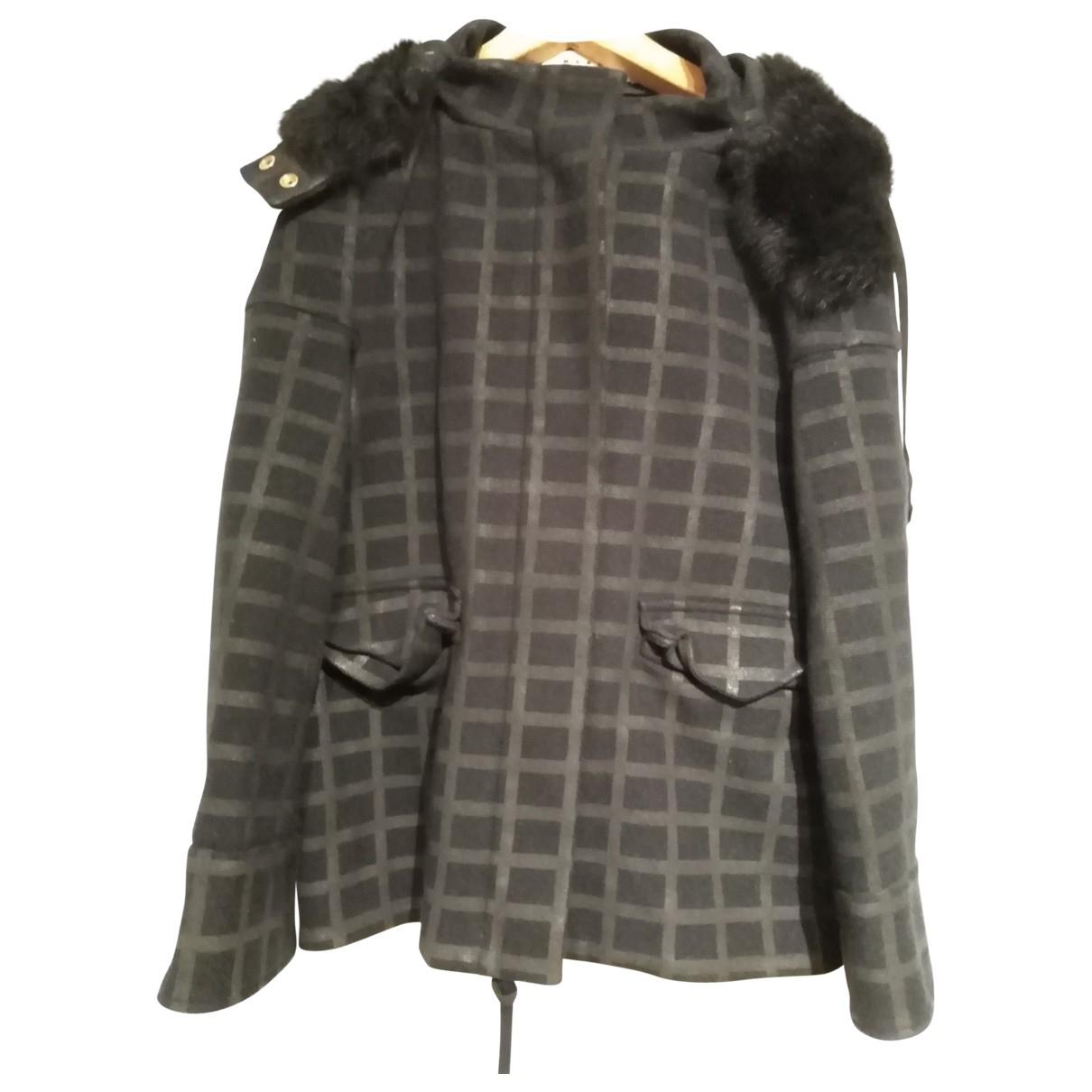 Marni \N Blue Wool coat for Women 42 IT