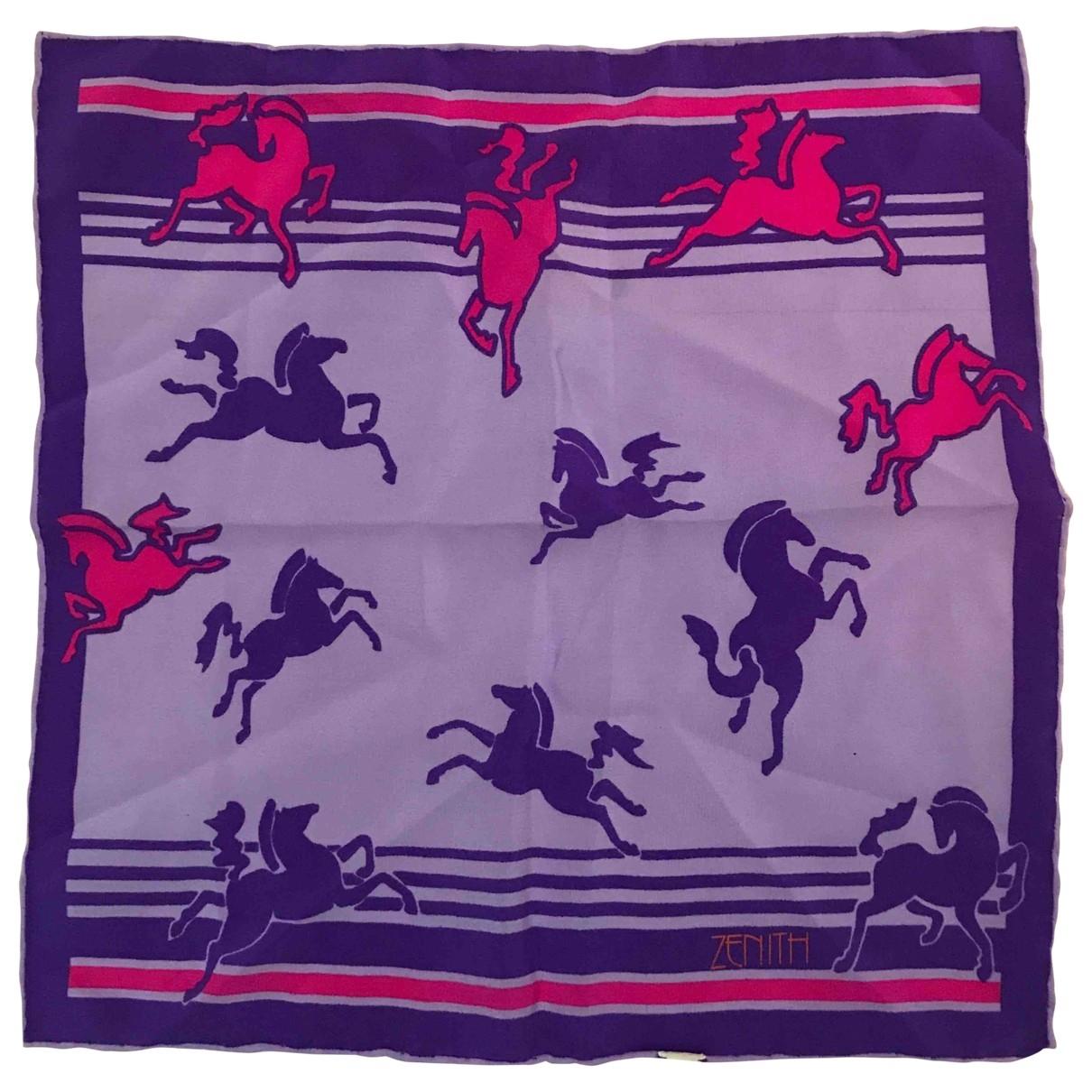 Zenith - Foulard   pour femme en soie - multicolore