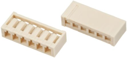 JST , SCN Connector Housing, 2.5mm Pitch, 10 Way, 1 Row (10)