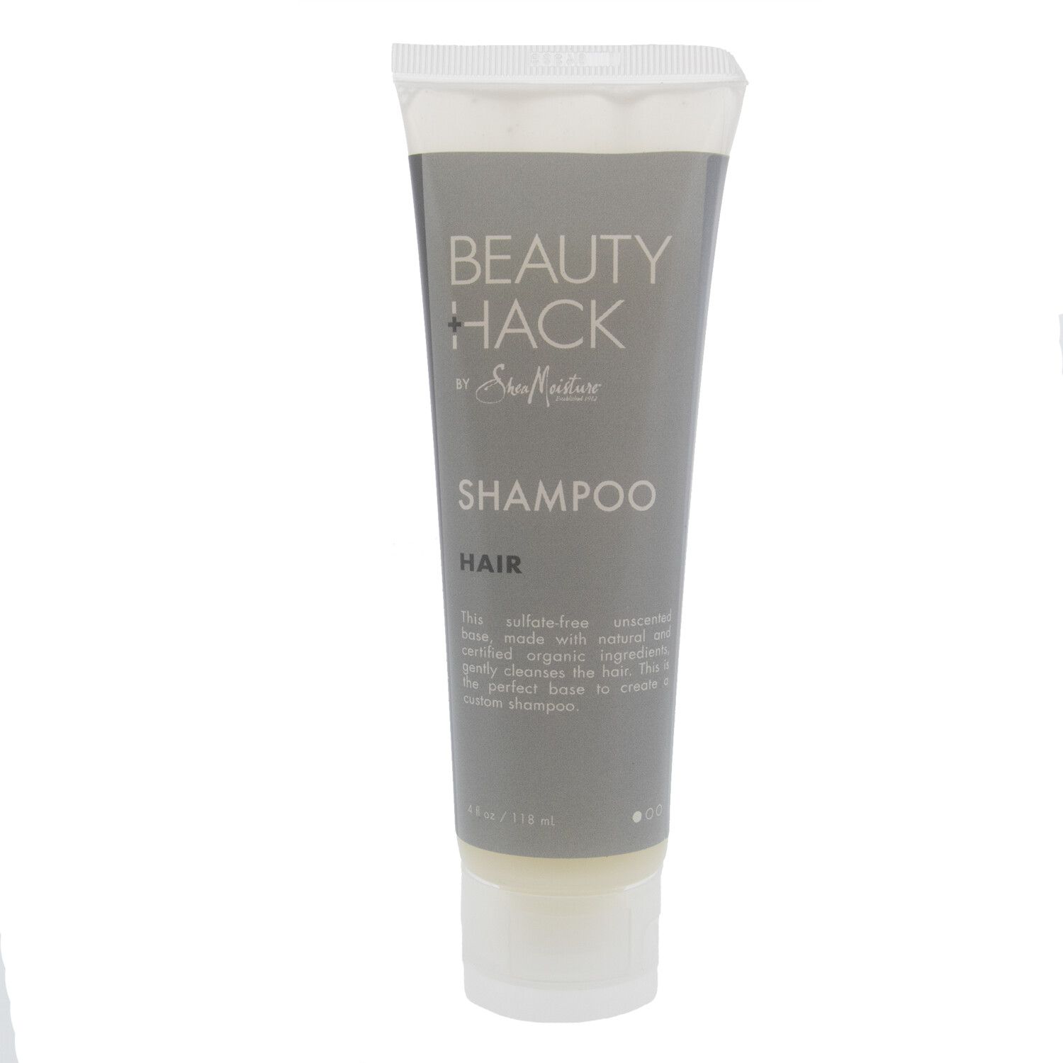 SheaMoisture Shampoo Beauty Hack Pure Base Step 1, Restorative - 4 oz