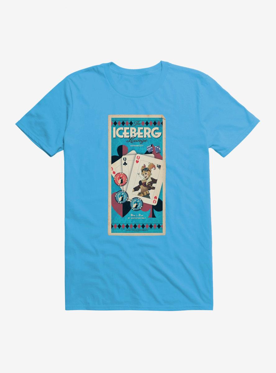 DC Comics Bombshells Harley Quinn Iceberg Lounge T-Shirt