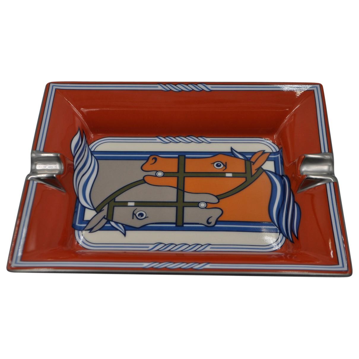 Hermes - Objets & Deco   pour lifestyle en porcelaine - orange