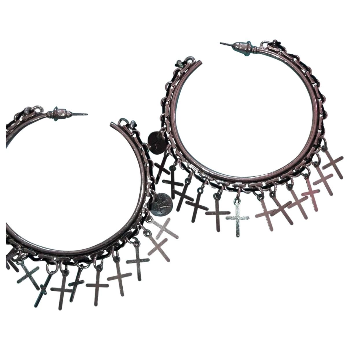 Reminiscence \N Silver Metal Earrings for Women \N