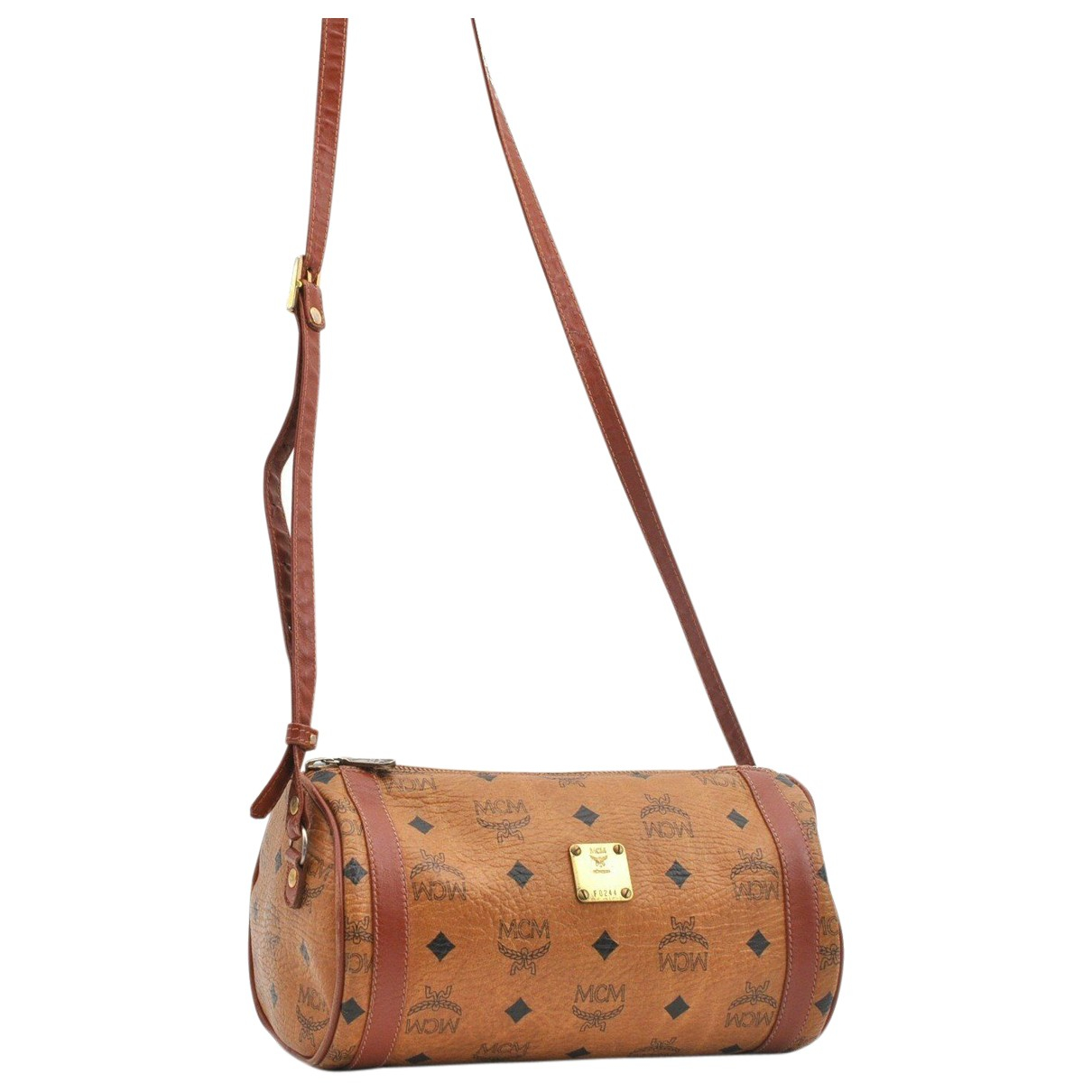 Mcm N Brown Leather handbag for Women N