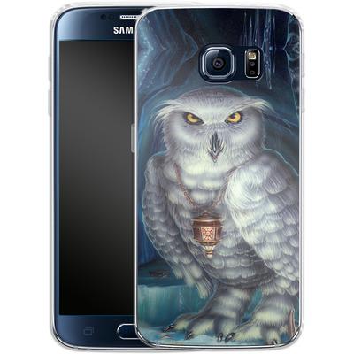 Samsung Galaxy S6 Silikon Handyhuelle - Ed Beard Jr - Wizard Messenger Owl von TATE and CO