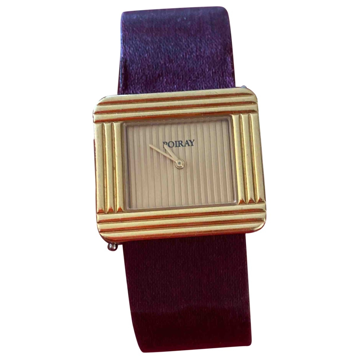 Poiray Ma Première Gold Yellow gold watch for Women \N