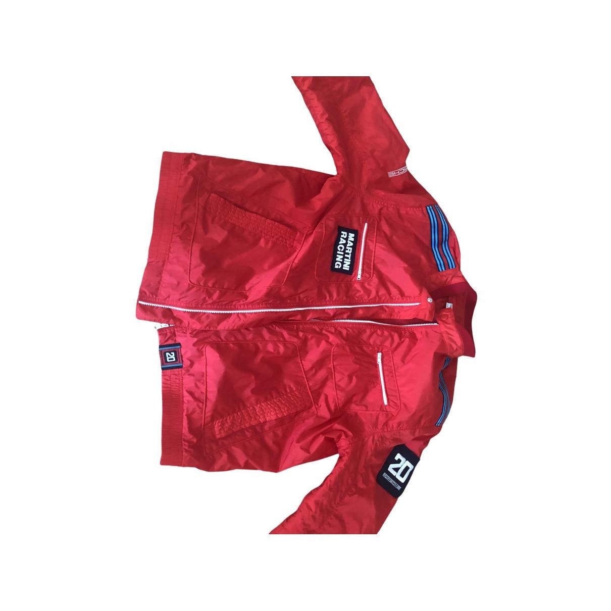 Porsche Design - Manteau   pour homme - rouge