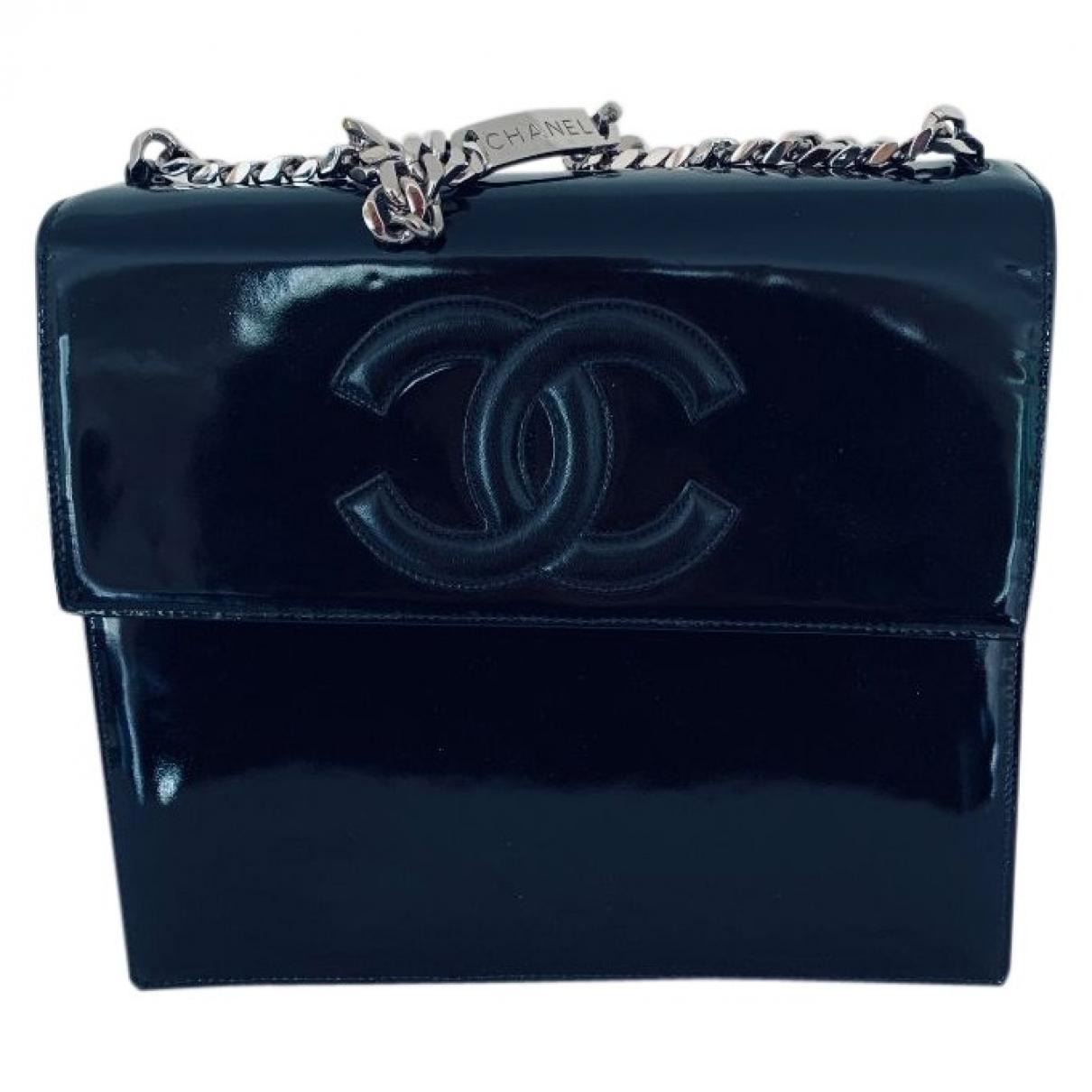 Chanel \N Black Patent leather handbag for Women \N