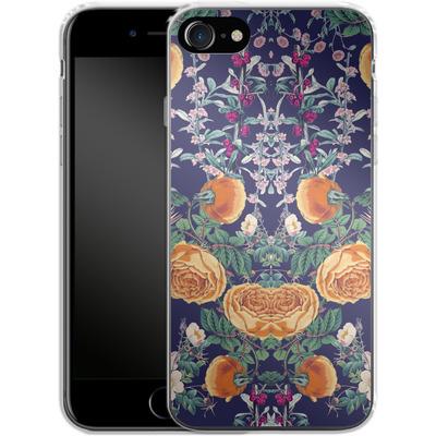Apple iPhone 8 Silikon Handyhuelle - Midnight Spring von Zala Farah