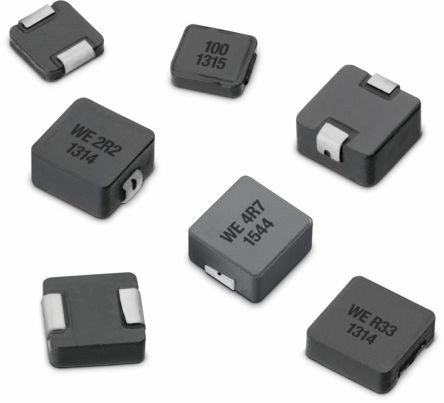 Wurth Elektronik Wurth, WE-LHMI, 8030 Shielded Wire-wound SMD Inductor with a Iron Core, 10 μH Moulded 3.7A Idc