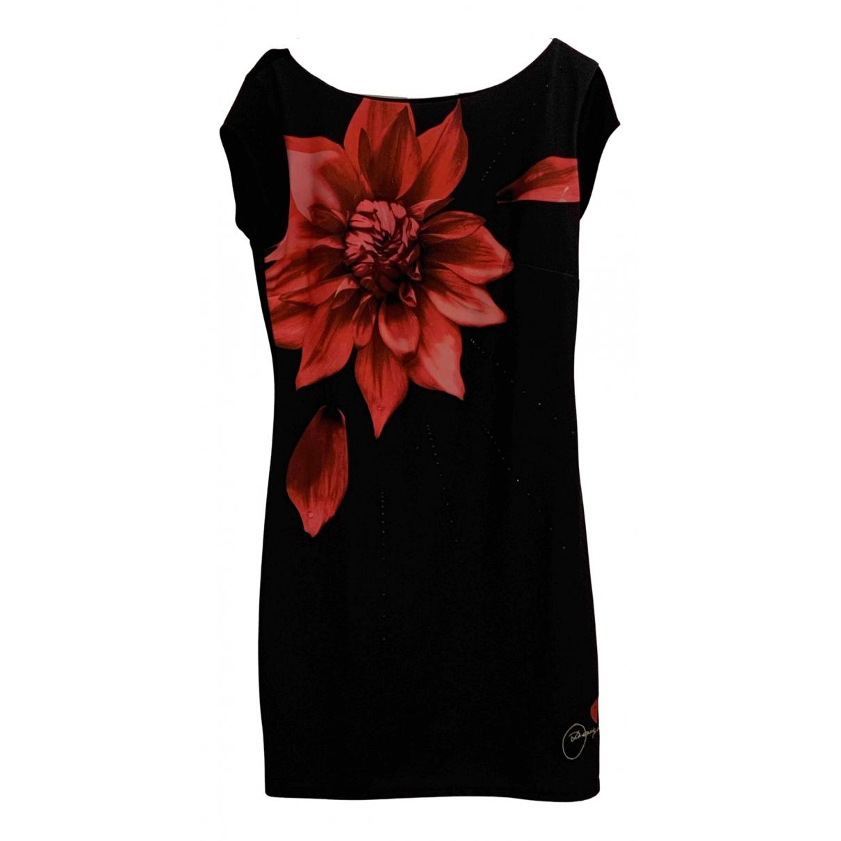 Desigual \N Kleid in  Schwarz Polyester