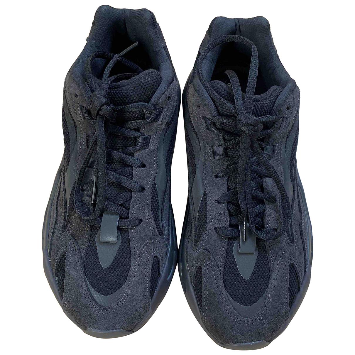 Yeezy X Adidas - Baskets Boost 700 V2 pour femme en toile - noir
