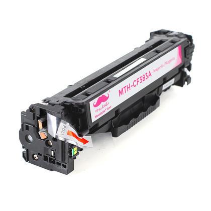 Compatible HP 312A CF383A Magenta Toner Cartridge - Moustache@ - 2/Pack
