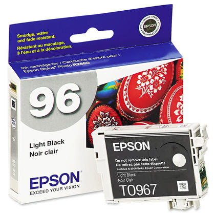 Epson T096720 Original Light Black Ink Cartridge