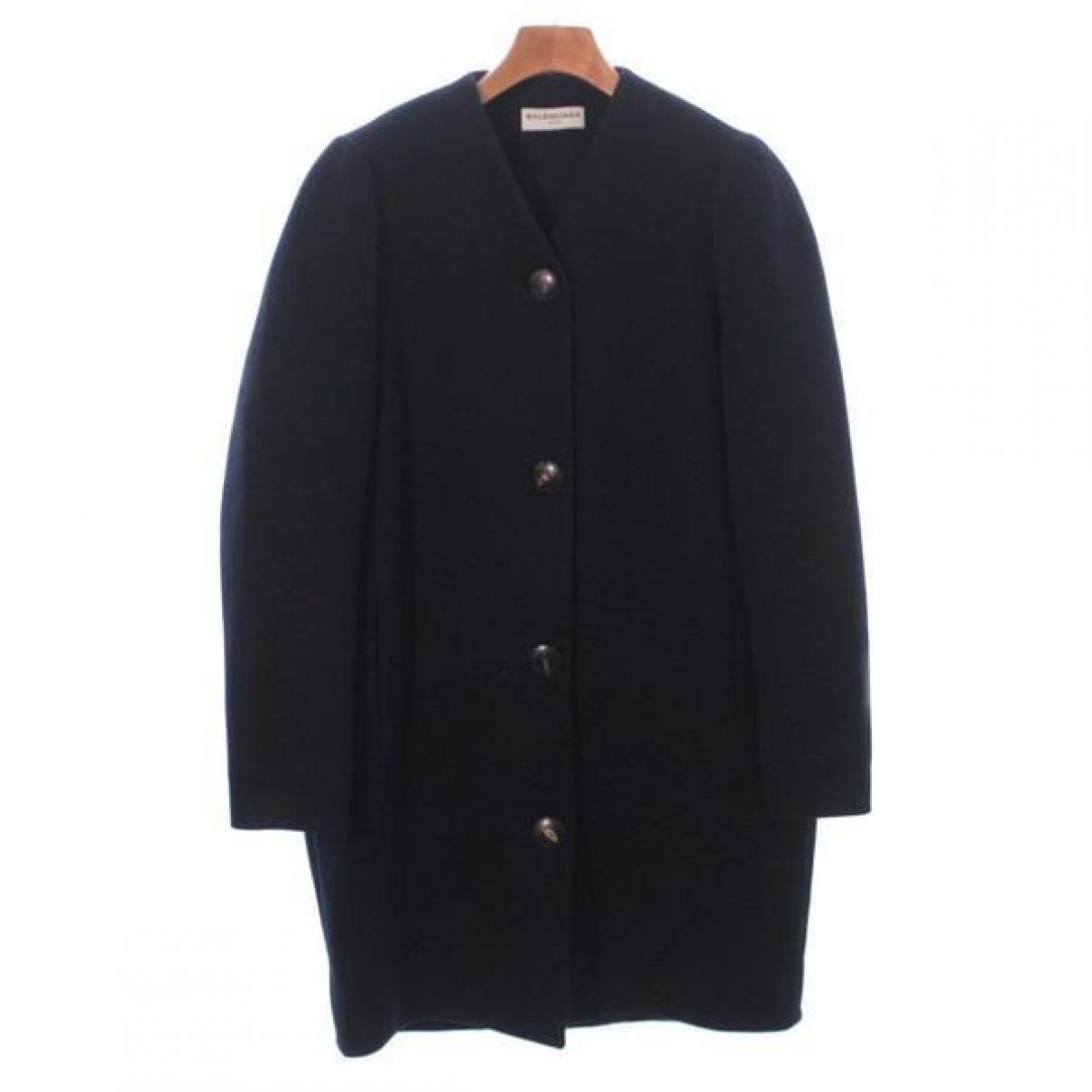 Balenciaga \N Blue Cotton jacket for Women 34 FR